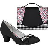 Ruby Shoo Women's Lily Mary Jane Pumps & Belfast Bag