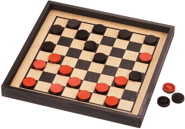 【希少!!】 Crown Checkers with Premium Checkers Board - Made in USA USA in B001PF527K, 丸万質舗:bea3da1a --- arianechie.dominiotemporario.com