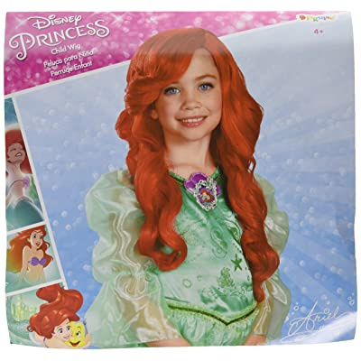 Disney Princess The Little Mermaid Ariel Child Wig: Toys & Games