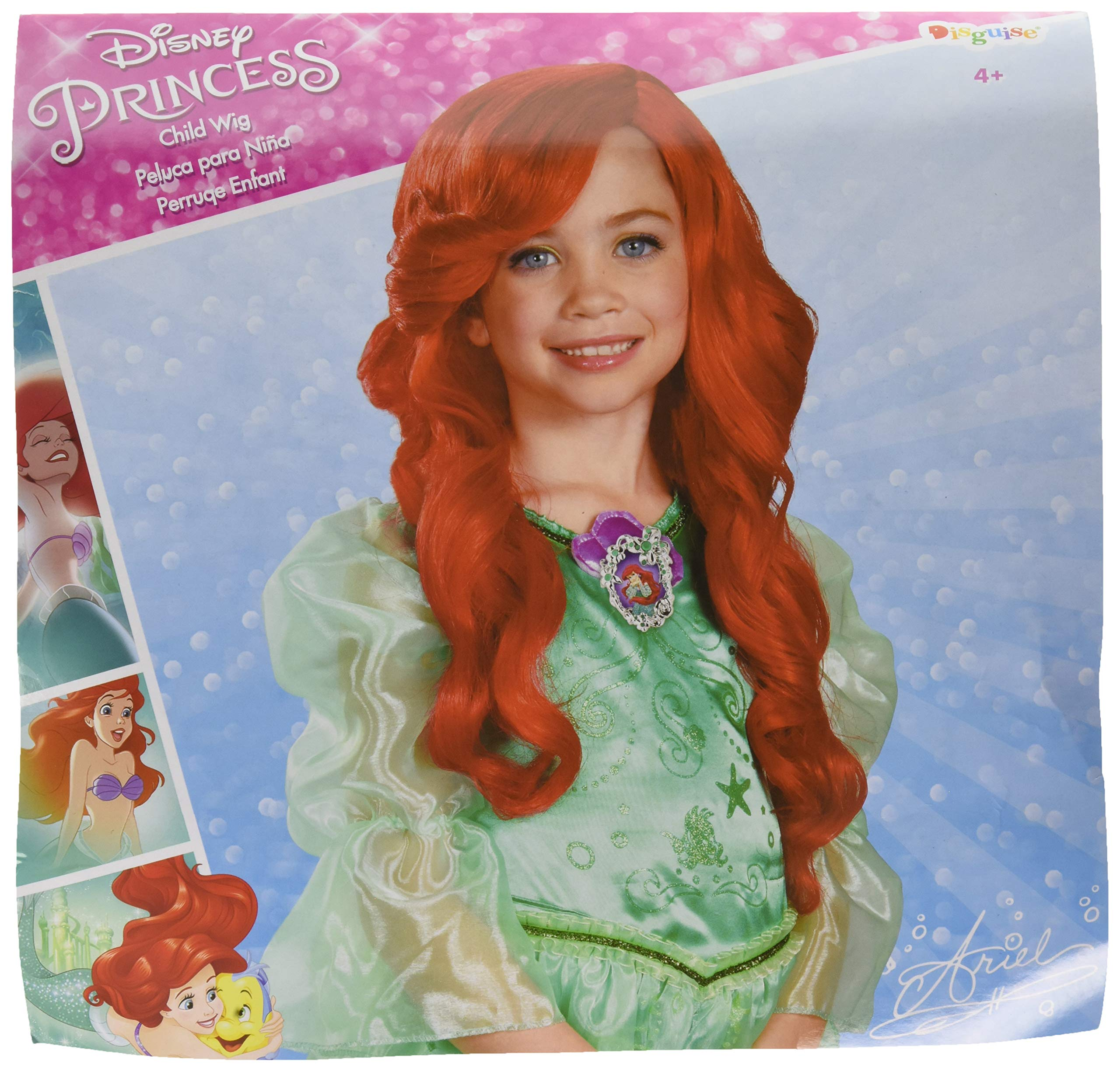 Disney Princess The Little Mermaid Ariel Child Wig