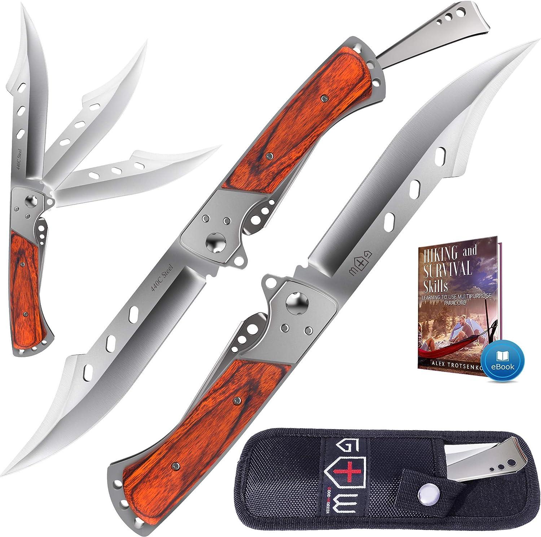 Grand Way Hunting Folding Knife