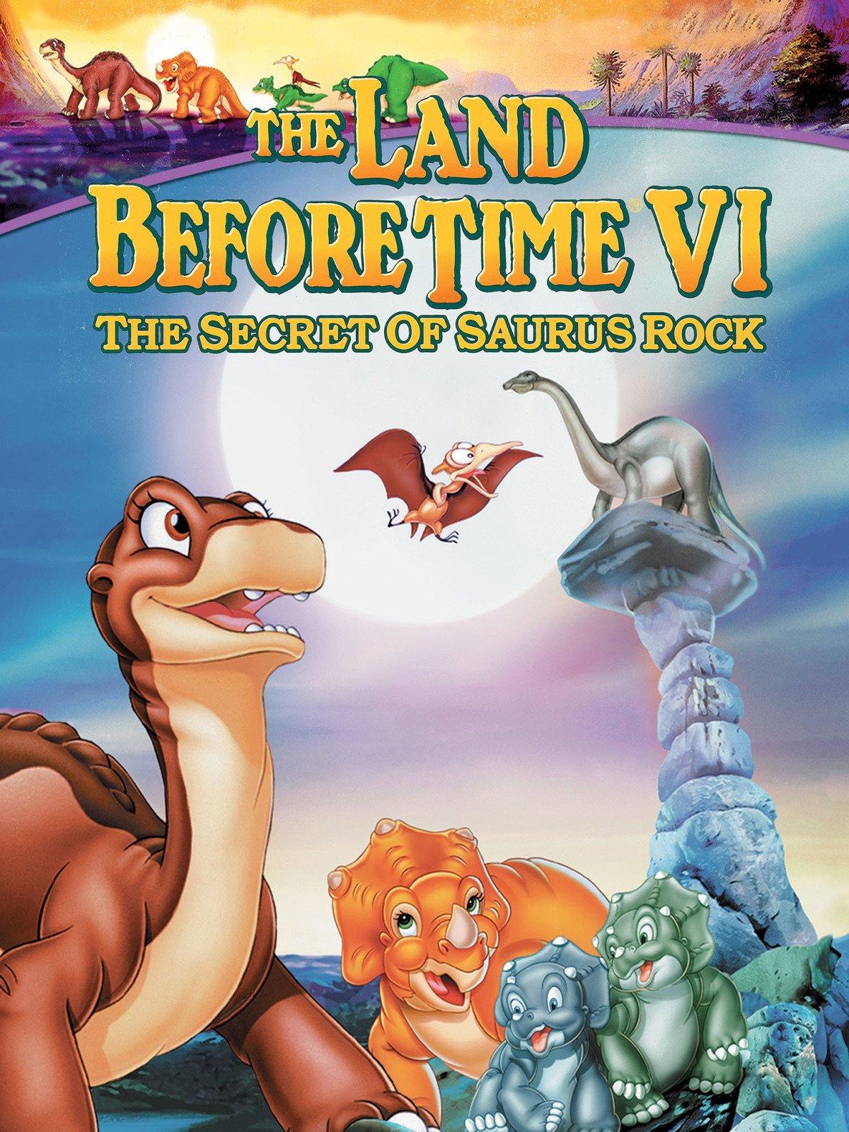 amazon com the land before time vi the secret of saurus rock