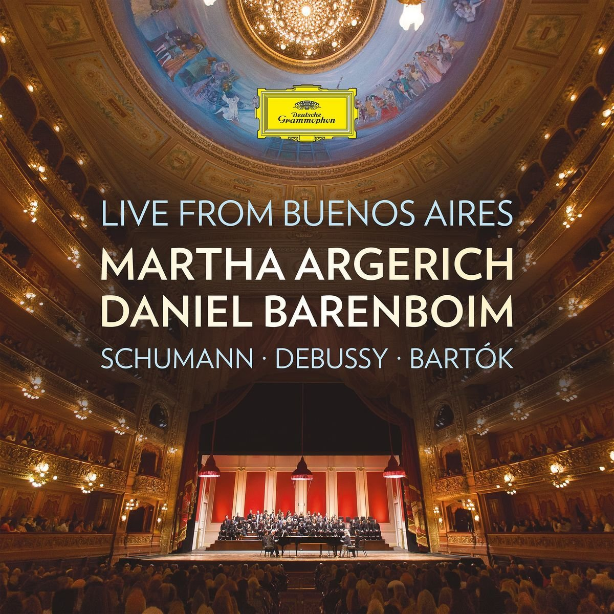 Live from Buenos Aires (Schumann; Debussy; Barktok)