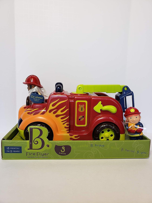 Toys Fire Flyer Fire Truck RRROLL Models B