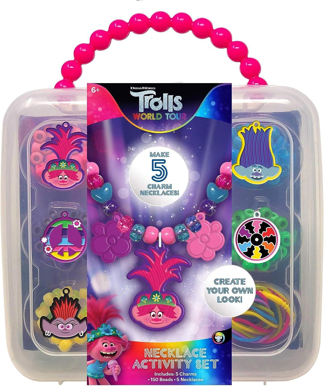 Innovative Designs Trolls World Tour Necklace Activity Set for Girls