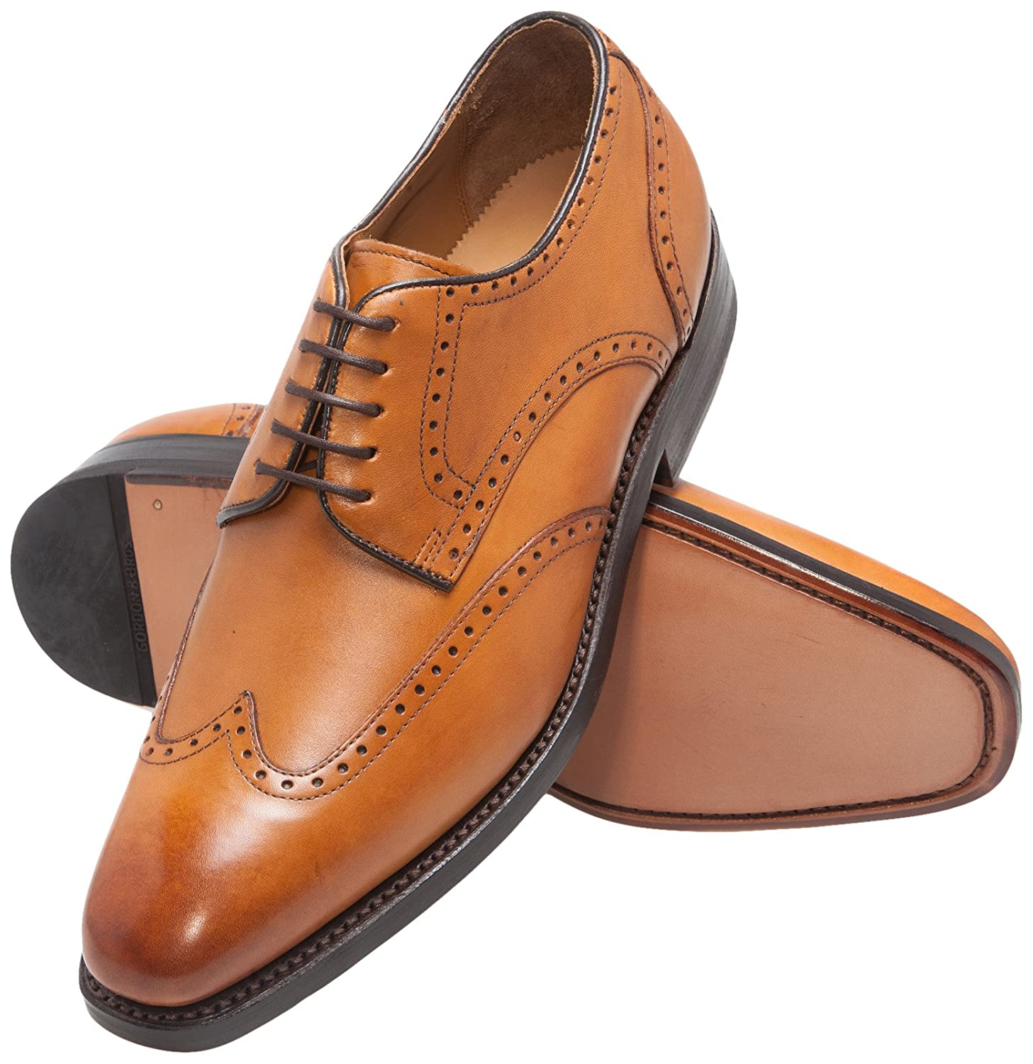 Derby homme Marron