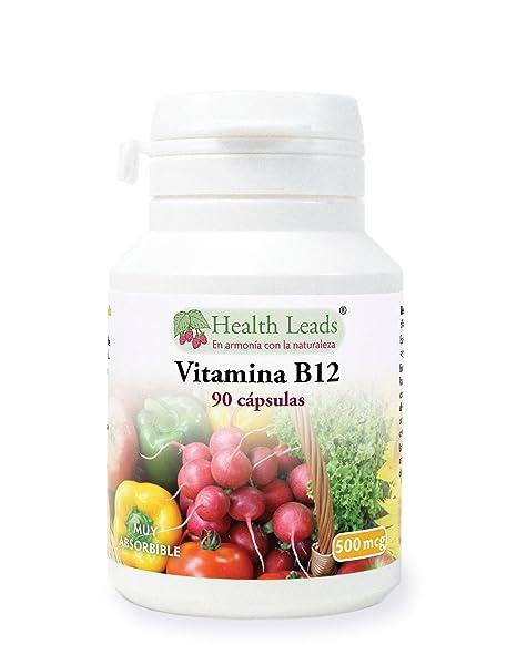Vitamina B12 500 mcg x 90 cápsulas …