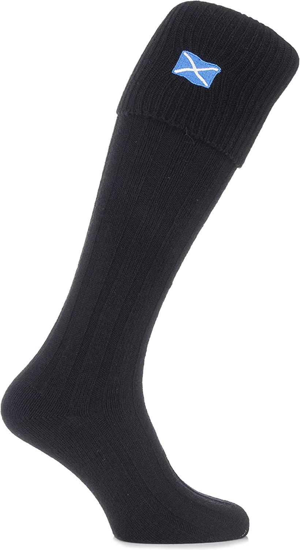 H J Hall Boys Wool Mix Kilt Hose Socks In Or Cream Ecru HJ Hall