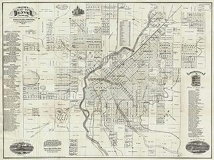 on denver county map