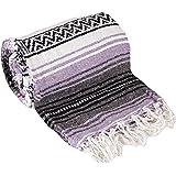 Mexican Style Falsa Yoga Blanket (Light Purple)