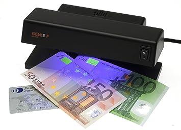 Dieter Gerth MD 188 - Detector UV de billetes falsos, color negro: Amazon.es: Oficina y papelería