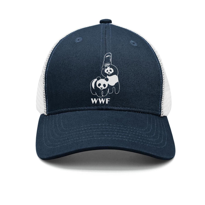 Unisex WWF Panda Wrestling PROS Parody Breathable Quick Dry Snapback Trucker Cap Sun Hats by FFGWMT