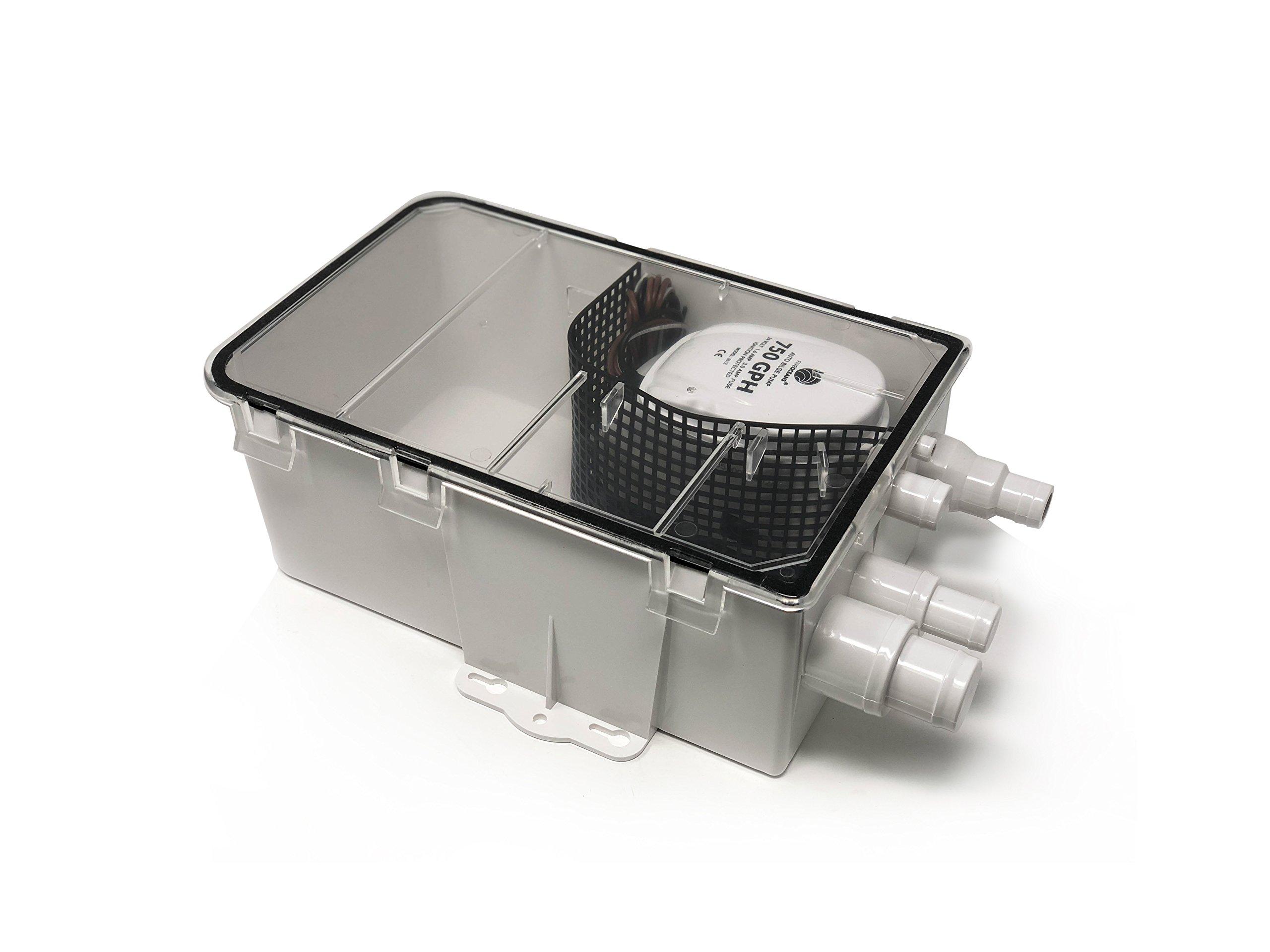 Five Oceans Shower Sump System Pump, 24V - BC 3612