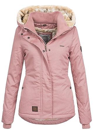 various colors cab0b 279d8 Aiki Damen Jacke Winter Jacke mit Kapuze Teddyfell 2 Taschen ...