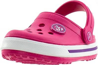 Zuecos Beppi para Niños - Mujeres - Zapatos para el Hogar, el Jardín y el Ocio Rosa: Amazon.es: Zapatos y complementos