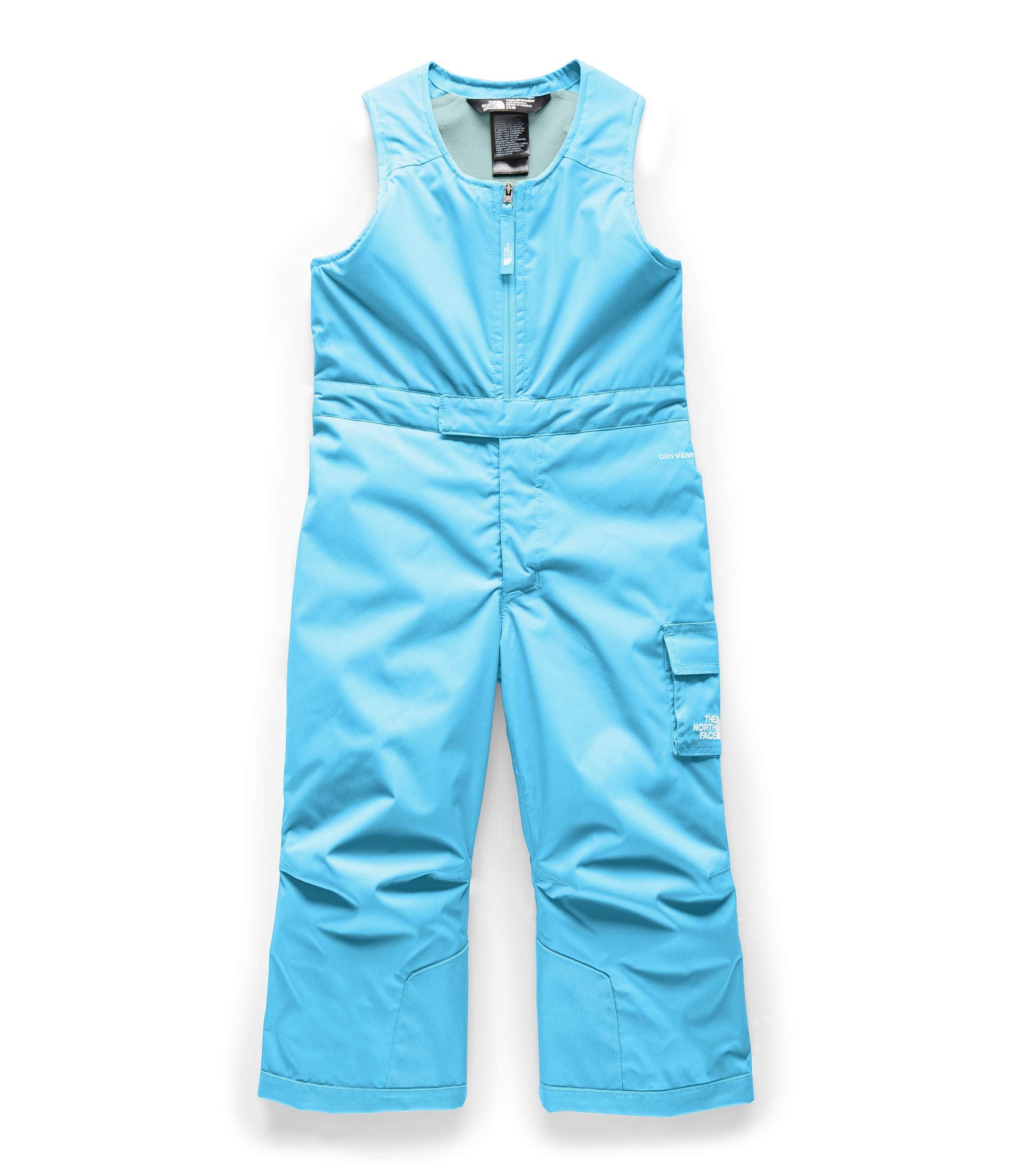 The North Face Toddler Insulated Bib Turquoise Blue by The North Face
