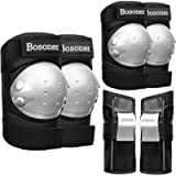 BOSONER Adult/Child Knee Pads Elbow Pads Guards Protective Gear Set for Cycling Bike Skateboarding Inline Roller Skating…