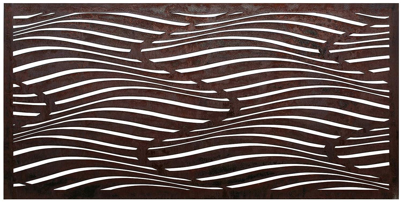 Be Metal Be Natural Sichtschutz Wüstendünen Laser Cut Dekorativer Stahl Sichtschutz