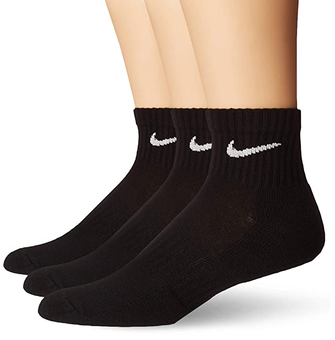 Amazon.com: Nike Everyday - Calcetines de entrenamiento (3 ...
