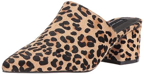 b525a43fd6c STEVEN by Steve Madden Women's Simone-L Sneaker, Leopard, 9.5 M US ...