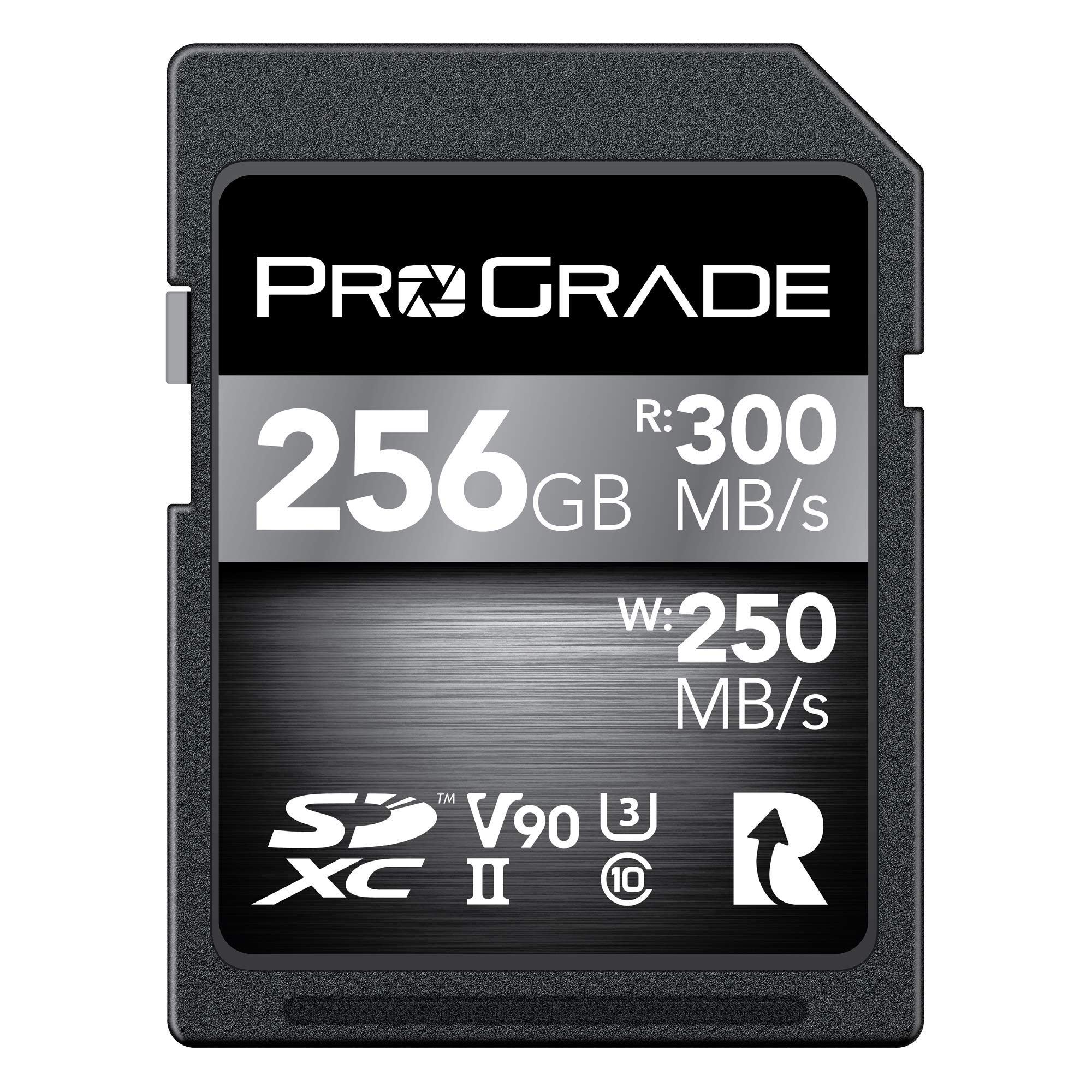 SD Card V90 (256GB) -Up to 250MB/s Write Speed and 300 MB/s Read Speed | for Professional Vloggers, Filmmakers, Photographers & Content Curators -Update Firmware Included - by ProGrade Digital by ProGrade Digital
