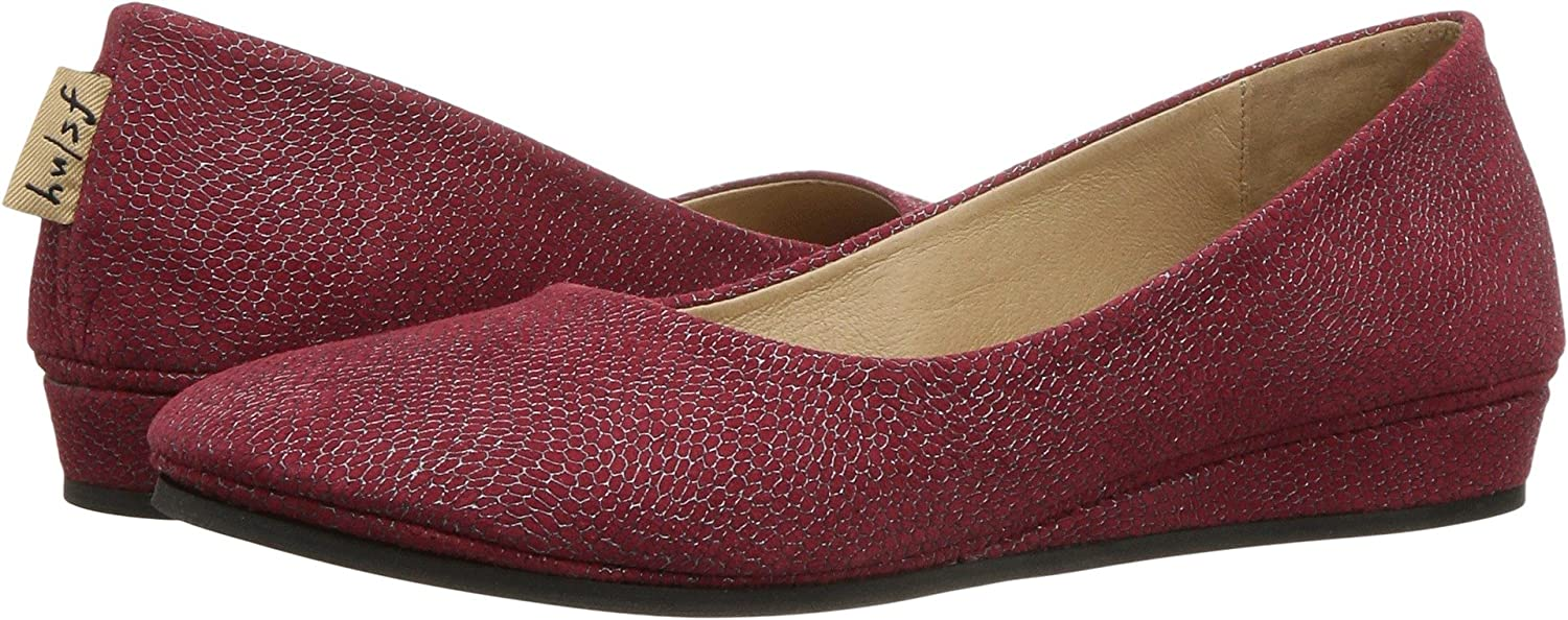 French Sole Shoes Women's Zeppa Slip on Shoes Sole B06Y27KHLG 6 B(M) US|Red Foil Print 8f5190