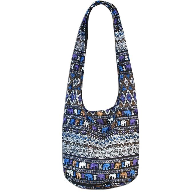0fc26fd6c075 Amazon.com | Elephant Hippie Hobo Bags Crossbody bags Shoulder Bags ...