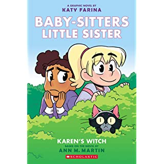 Karen's Witch (Baby-sitters Little Sister Graphic Novel #1): A Graphix Book (Baby-sitters Little Sister Graphic Novels)