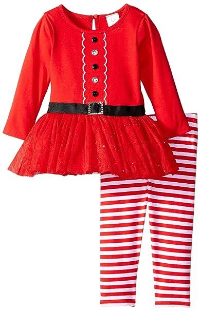 Amazon.com: Youngland bebé traje de Papá Noel vestido y ...