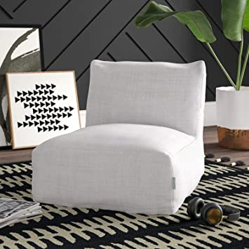 Amazon Com Standard Standard Bean Bag Chair Lounger Furniture Decor