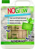 Pro-Kleen 5nogrow 5 Litres Weed & Moss Remover Non Glyphosate Formula Liquid For Paths, Patios, Driveways, Decking • Makes up to 15L and Covers up to 120m² • A Powerful Blend of Organic Acids & Detergents • Start To See Results in 2 - 4 Hours