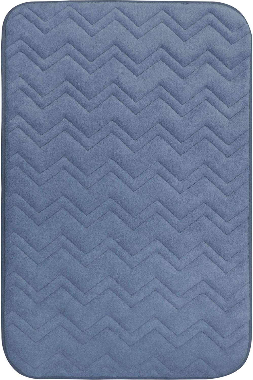 Home Dynamix Indulgence Zigzag Bath Mat, 20