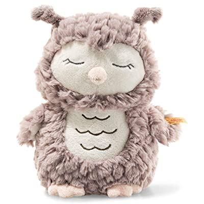 Steiff Soft Cuddly Friends Ollie Owl Plush EAN 241833: Toys & Games
