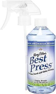 Mary Ellen Products Best Press Linen Fresh Spray Starch, 16 Ounce
