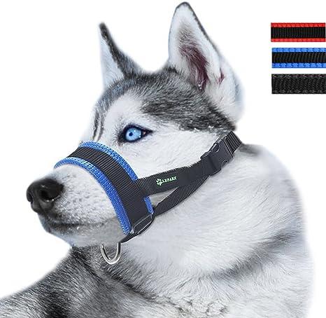 LePark Nylon Dog Muzzle for Small,Medium,Large Dogs