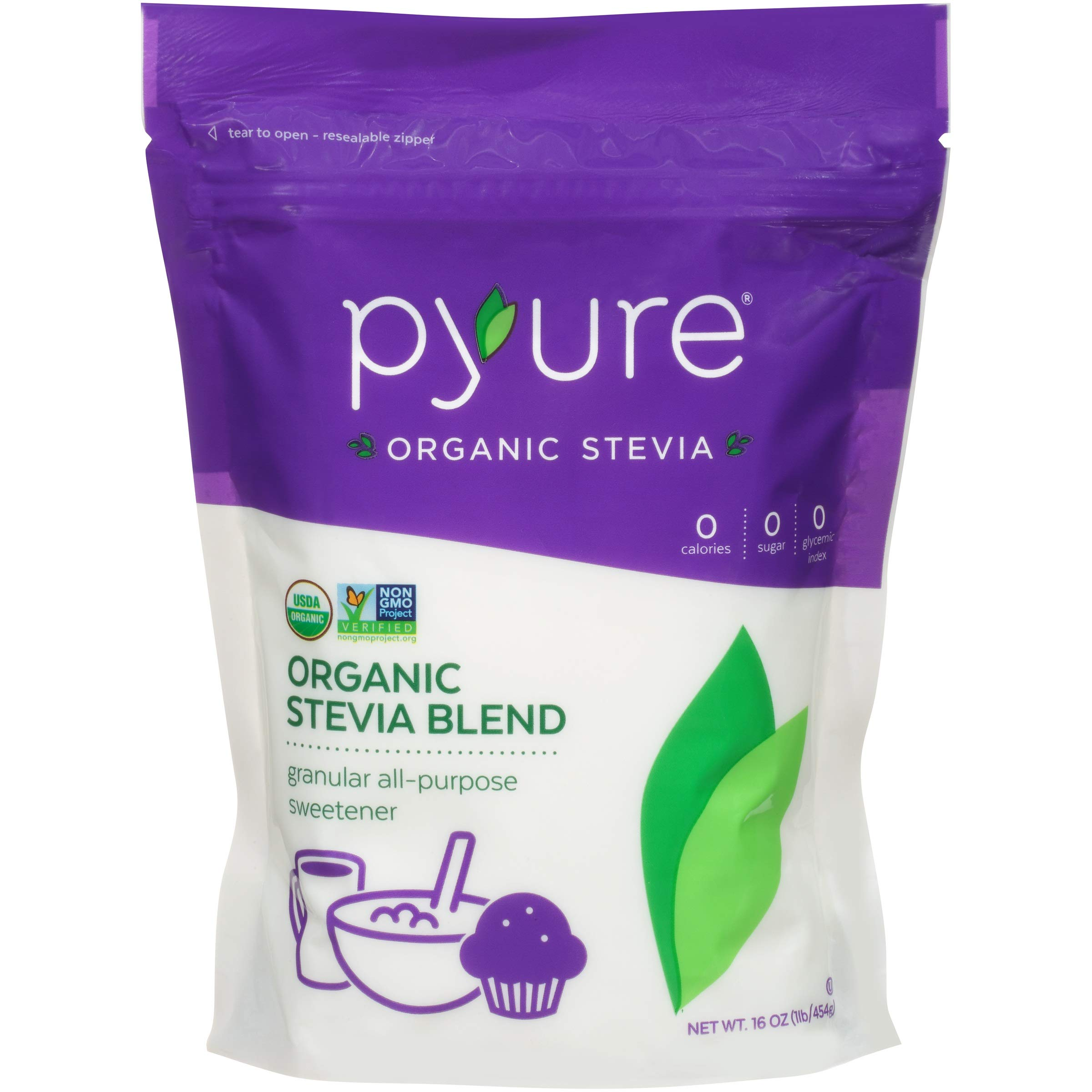 Pyure Organic All-Purpose Blend Stevia Sweetener, 1 lb (16 oz) by Pyure (Image #4)