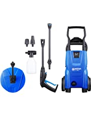 Nilfisk C 110 bar Pressure Washer Patio Cleaner, 440 L/H water flow, Blue