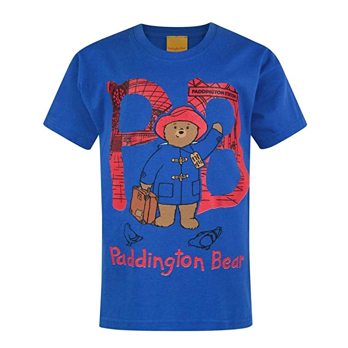 Paddington Bear PB Boy/'s T-Shirt
