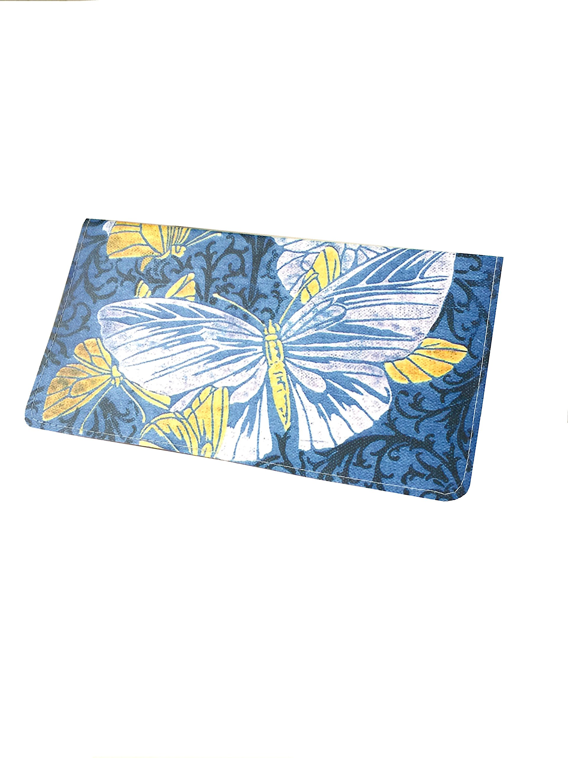 Butterfly Book Checkbook Cover