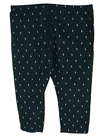 164d9240ea Polo Ralph Lauren Mens Big All Over Pony Player Woven Pants at Amazon Men s  Clothing store  Pajama Bottoms