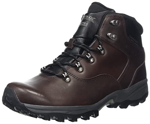 Regatta Bainsford, Mens High Rise Hiking Boots, Brown (Peat), 7 (