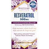 Reserveage - Resveratrol 500mg, Cellular Age-Defying Formula, 60 Capsule
