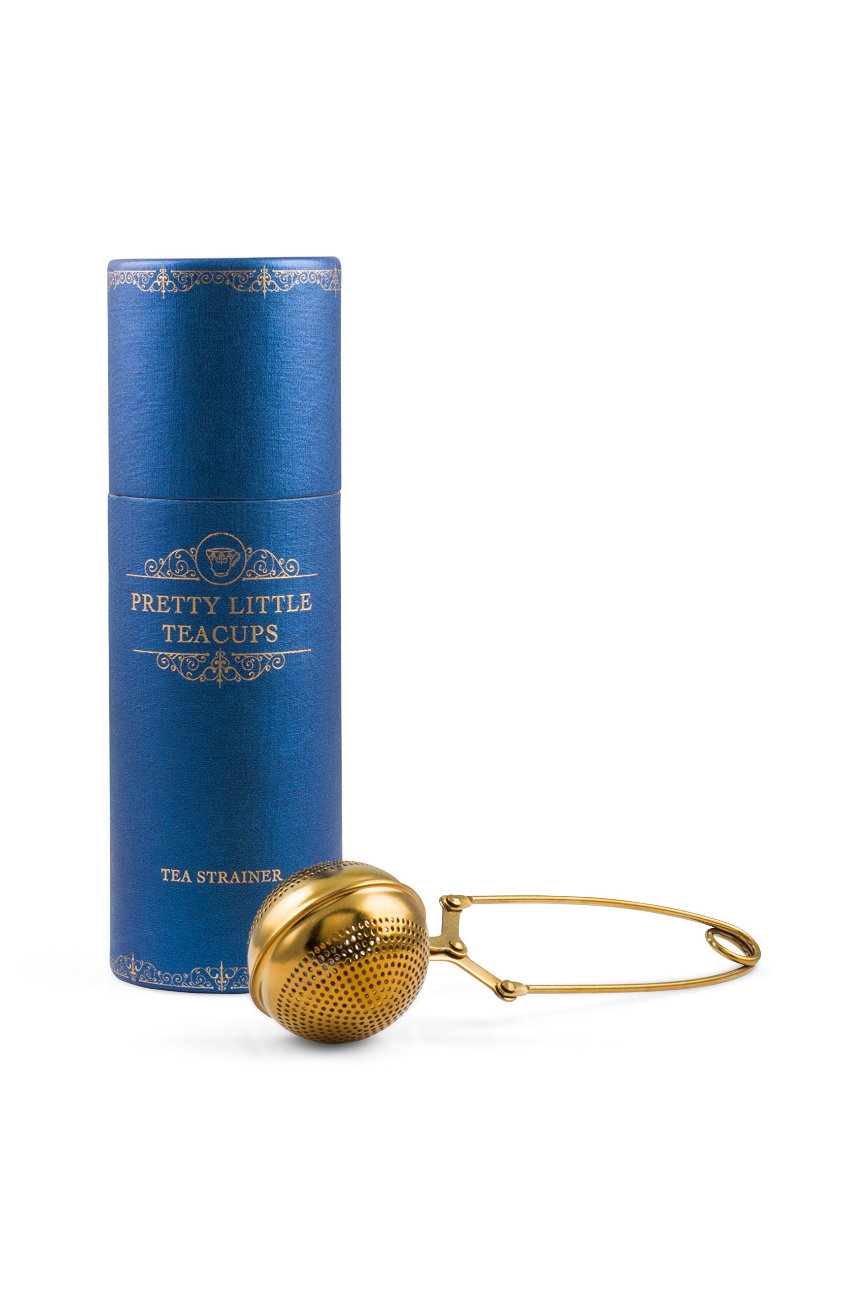Pretty Little Teacups Loose Leaf Tea Infuser Gold