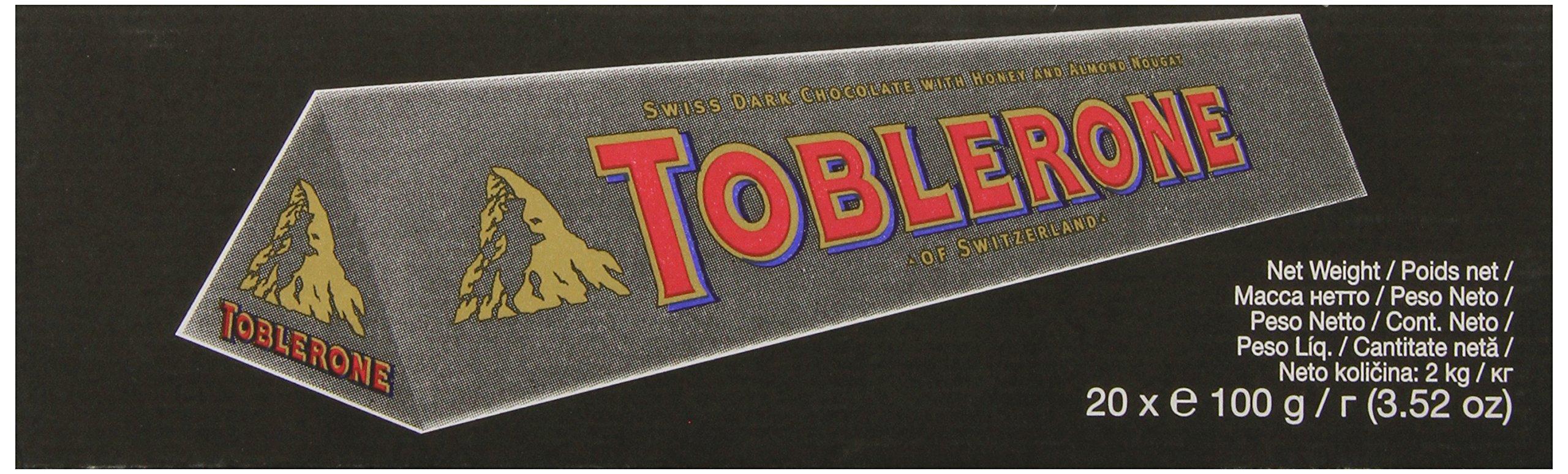 Toblerone Chocolate Bar, Dark, 3.52 Ounce (Pack of 20) by Toblerone (Image #5)