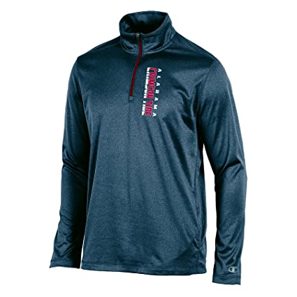 7202138f6409 Amazon.com   Champion NCAA Men s Team Quarter Zip Pullover   Sports ...