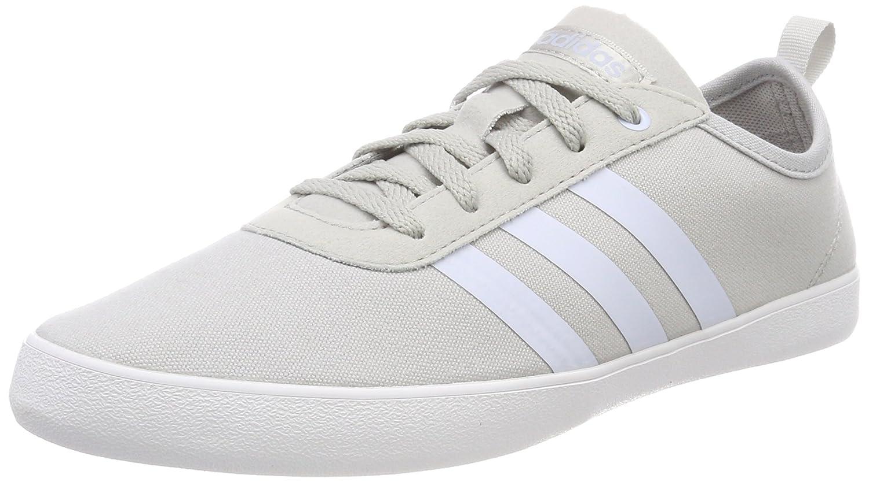 Adidas Qt Vulc 2.0 W, Zapatillas de Deporte para Mujer 42 2/3 EU Gris (Gridos / Aeroaz / Ftwbla 000)