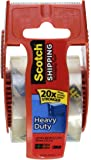 Scotch Heavy Duty Shipping Packaging Tape, 1.88 Inch x 800 Inch, Clear