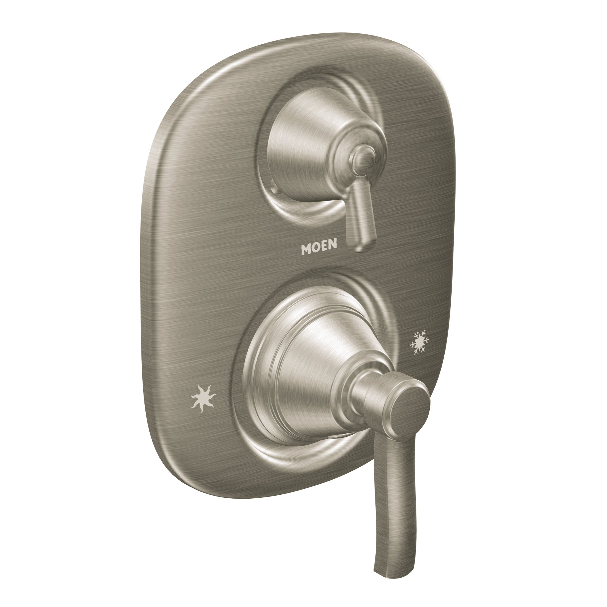 Moen TS4211BN Rothbury Moentrol Shower Valve with 3-Function Integrated Diverter Valve Trim, Valve Required, Brushed Nickel by Moen (Image #1)