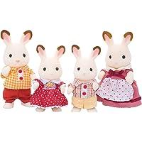 Sylvanian Families - 4150 - Poupées Et Accessoires - Famille Lapin Chocolat