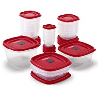 Deals on 42-Pc Rubbermaid 2063704 Easy Find Vented Lids Food Container